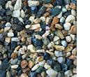 river rock aggregates, drainage basalt